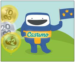 Casumo ger bort gratis spins