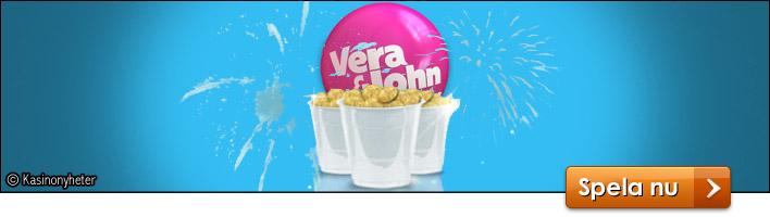 Vera John ger bort pengar